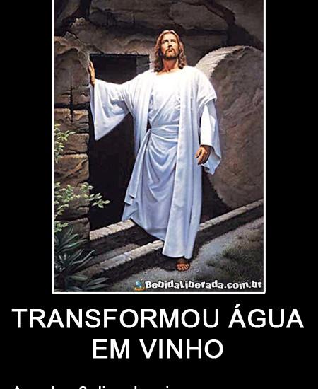 Jesus sabia dar festa