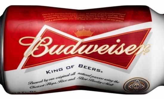 Budweiser lança nova latinha para o verão americano
