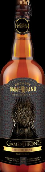 Cerveja de Game Of Thrones começa a ser vendida