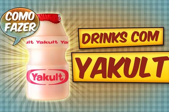 Aprenda a fazer drinks com Yakult! Essa semana no AllCool eu ensino a fazer: Lactobacilos Loucos, Lactobacilos Safados e Lactobacilos Kamikazes!