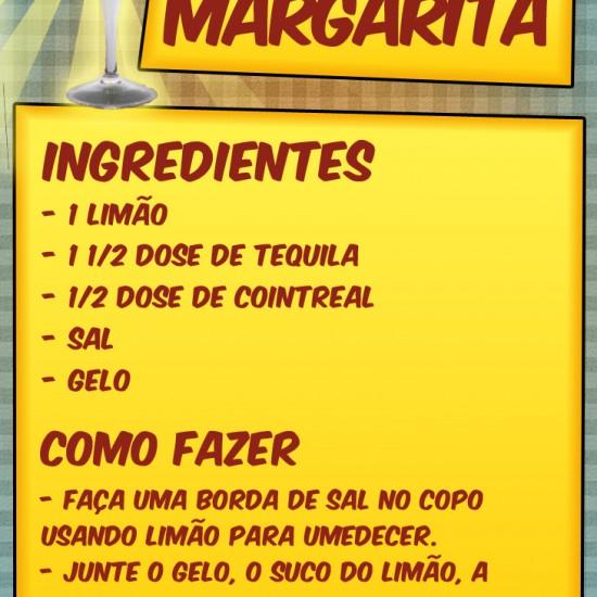 Apreda como fazer a melhor receita de Margarita da internet! E o melhor: São 3 receitas!