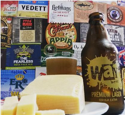 queijo e cerveja