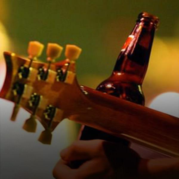 musica e cerveja