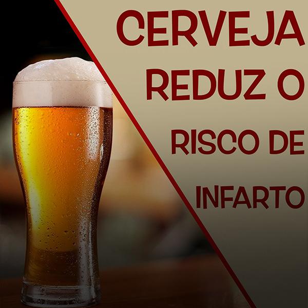 cerveja e infarto