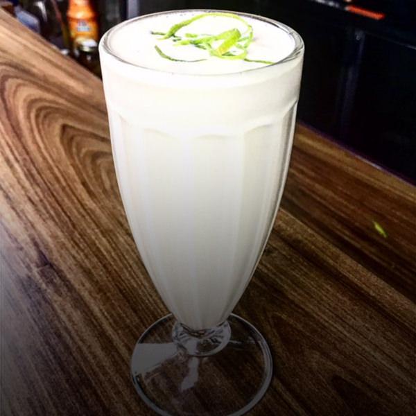 milkshake de caipirinha