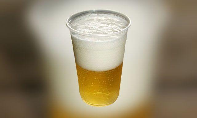 cerveja copo plastico