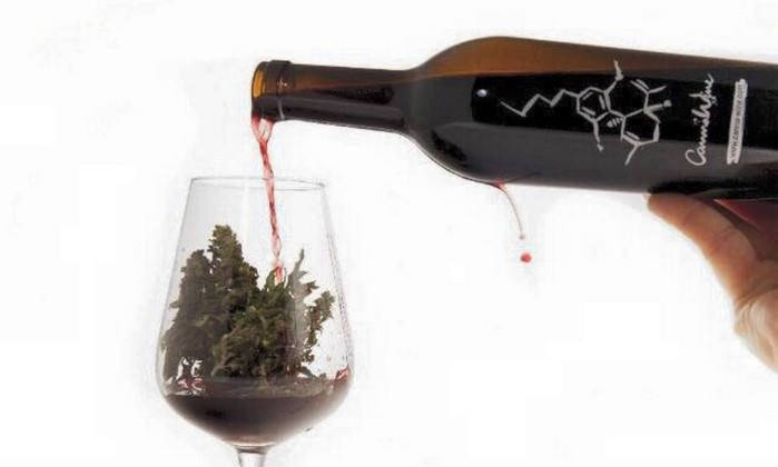 vinho de maconha, o CannaWine
