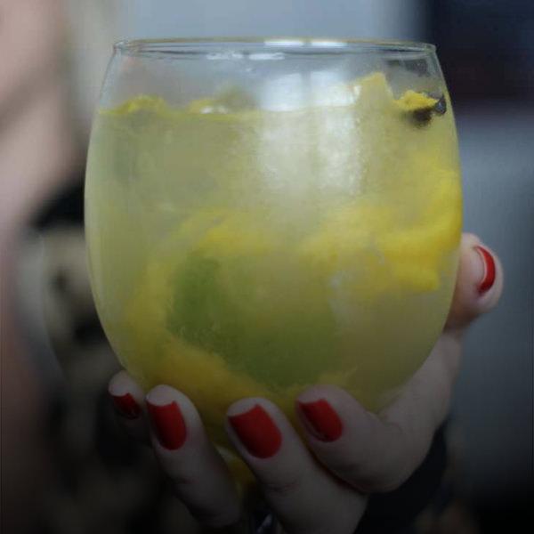 gin com manga