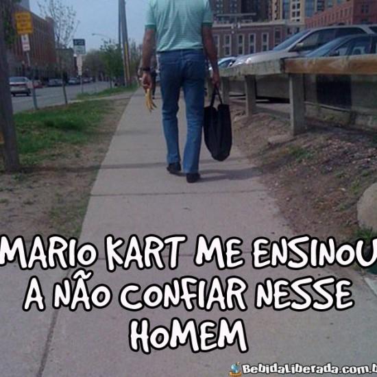 Mario Kart me ensinou
