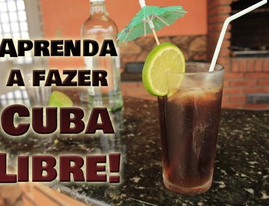 Para fechar a temporada de drinks refrescantes com chave de ouro, nada melhor do que uma deliciosa Cuba Libre!