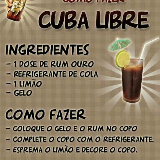 Aprenda a fazer a A Cuba Libre que eu fiz essa semana no AllCool #16!