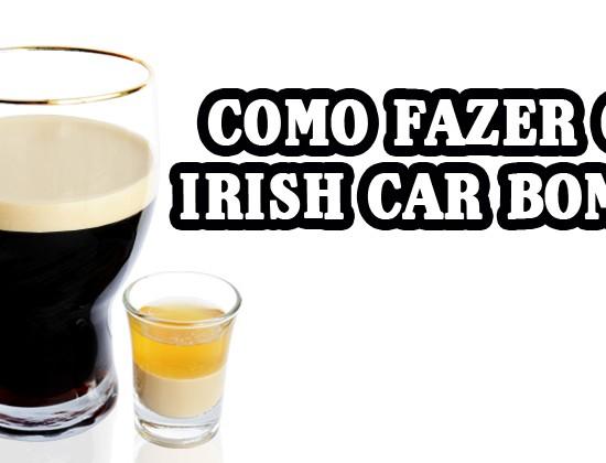 O Irish Car Bomb é um drink criado nos Estados Unidos em homenagem aos Irlandeses por ser feito apenas com bebidas desse país.